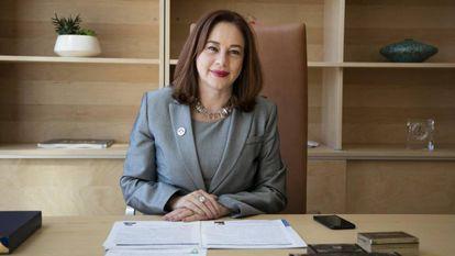A candidata à Secretaria-Geral da OEA, María Fernanda Espinosa.