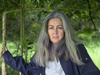 Polly Higgins, a advogada e ativista de direitos humanos e ambientais.