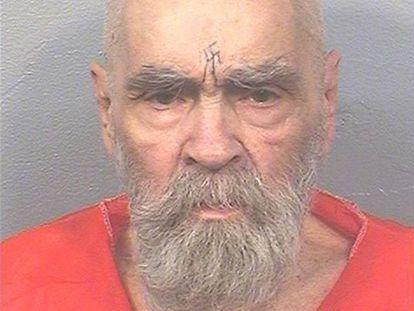 Charles Manson, fotografado em agosto de 2017 na prisão estadual da Califórnia.