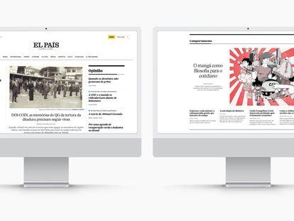 Nova web do EL PAÍS vem reforçar a essência do jornal no mundo digital