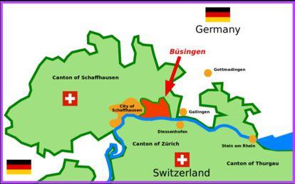 Alemanha dentro da Suíça