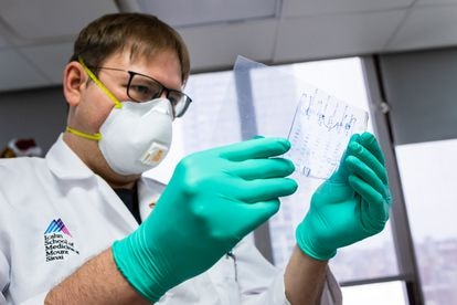 O virologista Florian Krammer, do Hospital Mount Sinai, de Nova York.