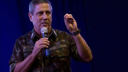 O interventor federal do Rio, general Walter Souza Braga Netto.