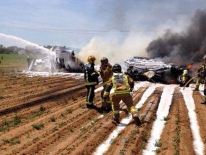 Acidente com avião militar em Sevilha deixa pelo menos quatro mortos