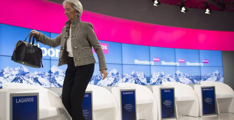 Christine Lagarde, diretora gerente do FMI