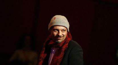 José Padilha no Festival de Cinema de Berlim em 2008.