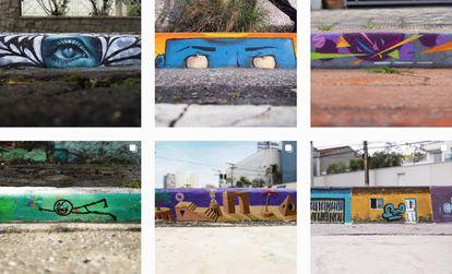 """Fotos do projeto """"Sem Rampa, Calçada é Muro""""."""