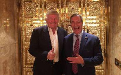 Trump e Farage, 'yes we won'.