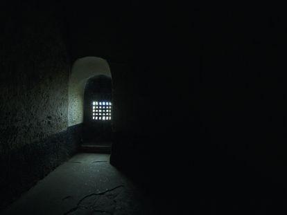 Cela no Castelo de São Jorge da Mina, em Gana, que foi utilizada para confinar negros escravizados.