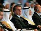 FILE PHOTO: Brazilian President Jair Bolsonaro attends the UAE-Brazil Business Forum in Abu Dhabi