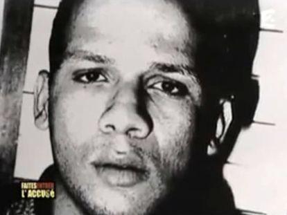 Imagem de Abdelhakim Dekhar, que participou de um outro crime célebre em 1994