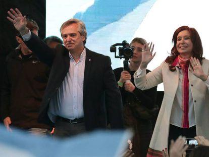 Alberto Fernández e Cristina Fernández de Kirchner.