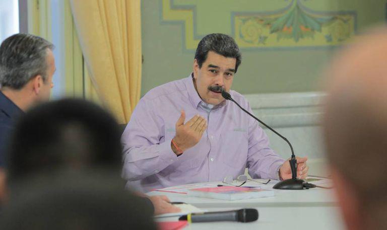 Nicolás Maduro, em um ato de Governo nesta quarta-feira.