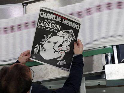 Capa do número especial de 'Charlie Hebdo'
