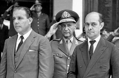 Presidente João Goulart e o primeiro-ministro Tancredo Neves: parlamentarismo para evitar guerra civil.