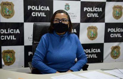 Delegada Ana Paula Barroso denuncia loja por racismo, em Fortaleza.