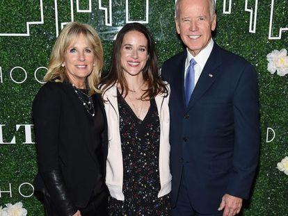 Jill, Ashley e Joe Biden.