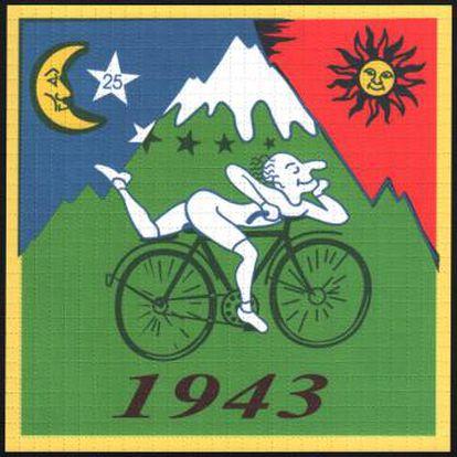 Papel secante comemorando no dia em que se descobriu o LSD.