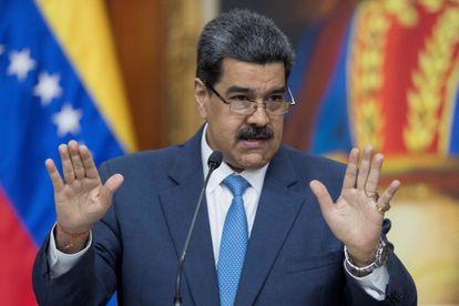 "O presidente da Venezuela, Nicolás Maduro, pediu ajuda de países ""amigos""."