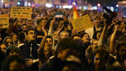 Protestos contra a ascensão do Vox reuniram milhares de pessoas nas ruas das capitais das províncias de Andaluzia