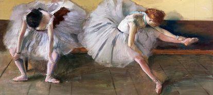 Bailarinas, de Edgar Degas.