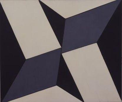 Planos em superfície modulada no. 2, versão 01 (c.1957).