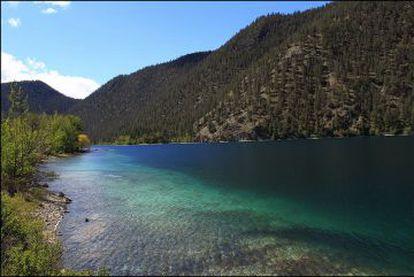 Imagem do lago Pavilion.