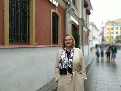 ELENA Vavilova. Foto: María Sahuquillo
