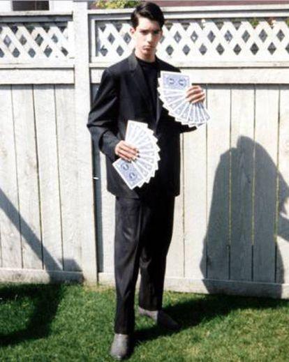 Jonathan Scott, em seus anos de mágico.