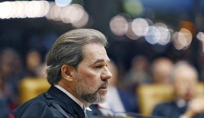 O presidente do Supremo, ministro Dias Toffoli.
