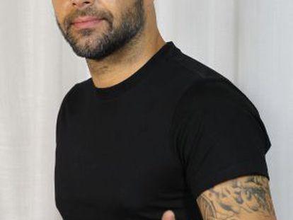 Ricky Martin, a seu passo por Madrid.