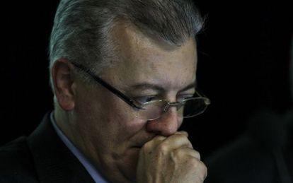 O presidente da Petrobras, Aldemir Bendine.