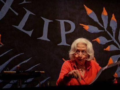 Fernanda Montenegro lê crônica política de Hilda Hilst na Flip