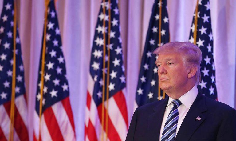 Donald Trump, candidato republicano na disputa pela indicação do partido às eleições presidenciais nos Estados Unidos.