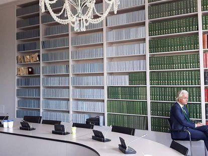 O dirigente da extrema-direita holandês Geert Wilders na última quinta-feira.