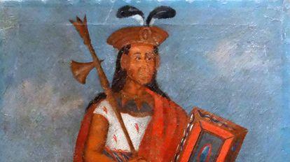 Retrato do inca Huayna Cápac