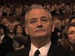 Bill Murray ao perder o Oscar de melhor ator por 'Encontros e Desencontros', em 2004.