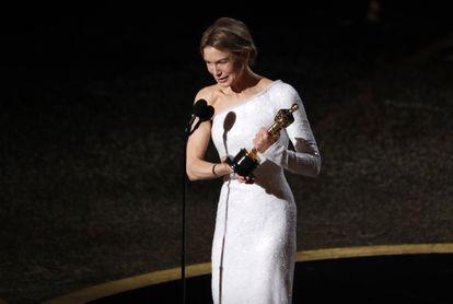Renee Zellweger, melhor atriz por 'Judy'.