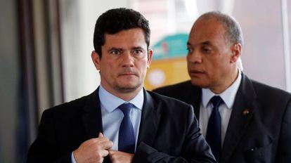 O futuro ministro da Justiça, Sergio Moro, no dia 8, em Brasília.