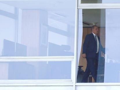 O novo ministro da Cidadania Onyx Lorenzoni no Planalto em 31 de janeiro.