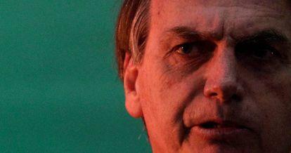 Jair Bolsonaro no lançamento da candidatura.
