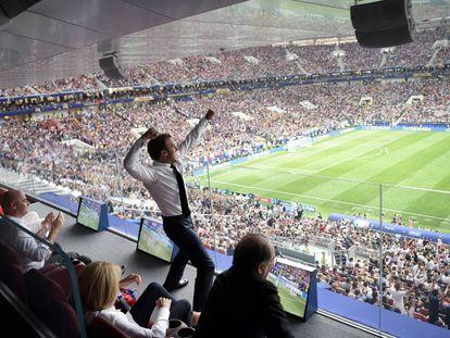 Macron, campeão