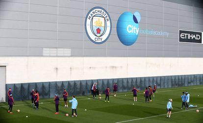 Centro de treinamento do Manchester City.