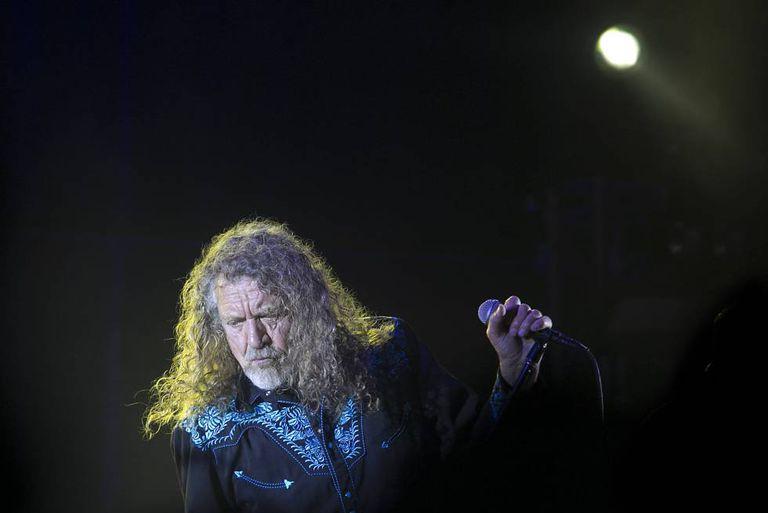Show de Robert Plant no Festival Cruïlla de Barcelona.