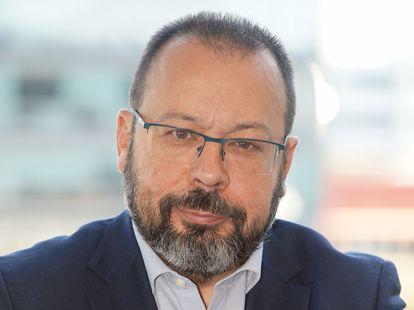 César Hernández, chefe do Departamento de Medicamentos de Uso Humano da Aemps.