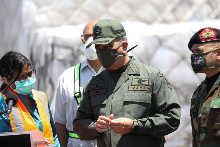O ministro da Defesa da Veneuela, Vladimir Padrino, em uma imagem de arquivo.