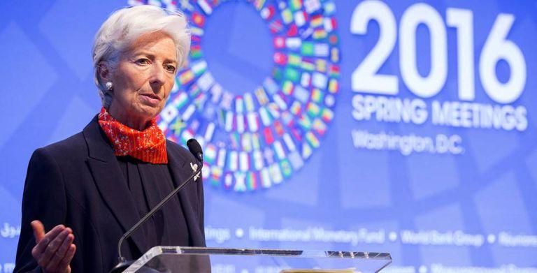 A diretora geral do Fundo Monetário Internacional (FMI), Christine Lagarde