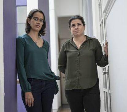 Belén Márquez e Biani López, vítimas do legionário Fernando Martínez.