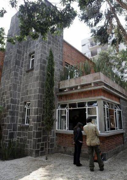 A casa de Buñuel no México DF, em uma imagem de 2013.