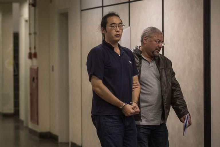 Fabio Hideki Harano, preso em junho deste ano.